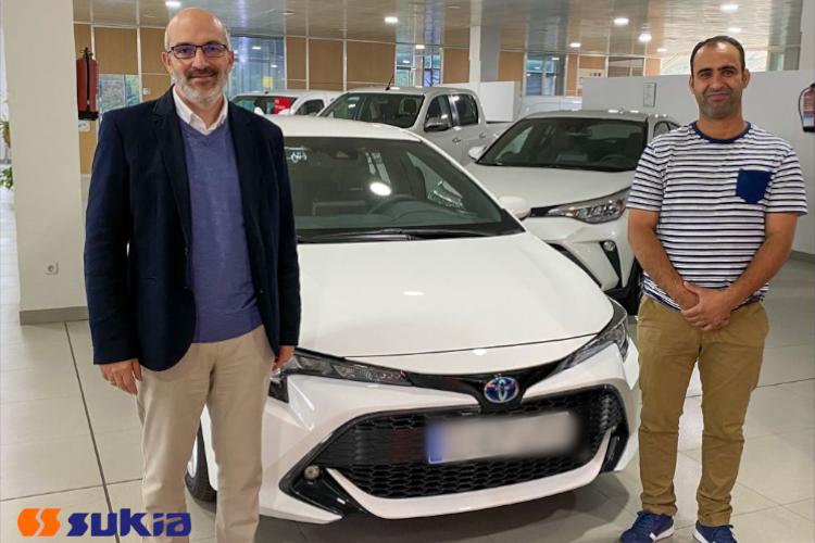 Compromiso social, nueva flota de vehículos híbridos en SUKIA