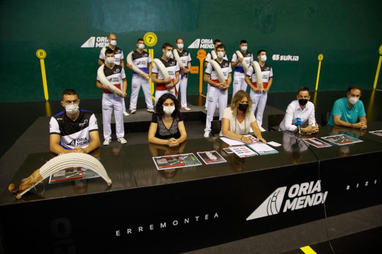 Sukia colabora con Oriamendi en el Torneo San Fermín de Remonte